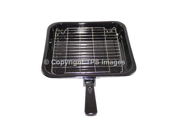 Grill Pan with a Wire Grill Rack