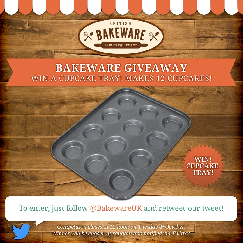 Cupcake Tray Giveaway
