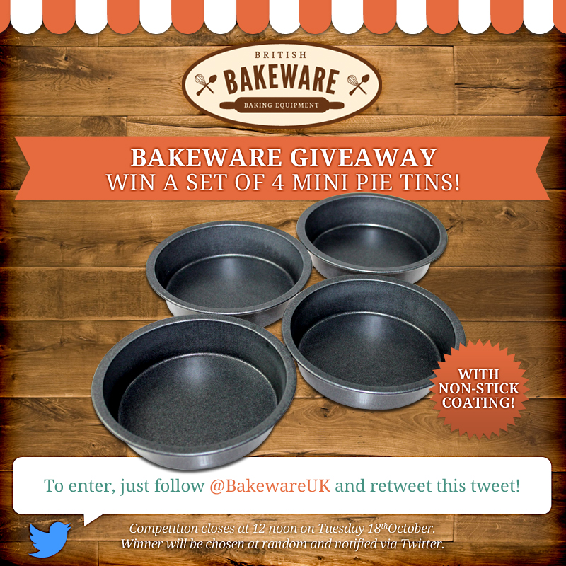 Win 4 mini pie tins!