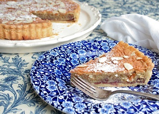 Apricot and Almond Bakewell Tart