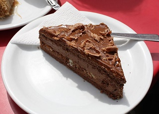 Gluten Free Coffee Cake with Dark Chocolate