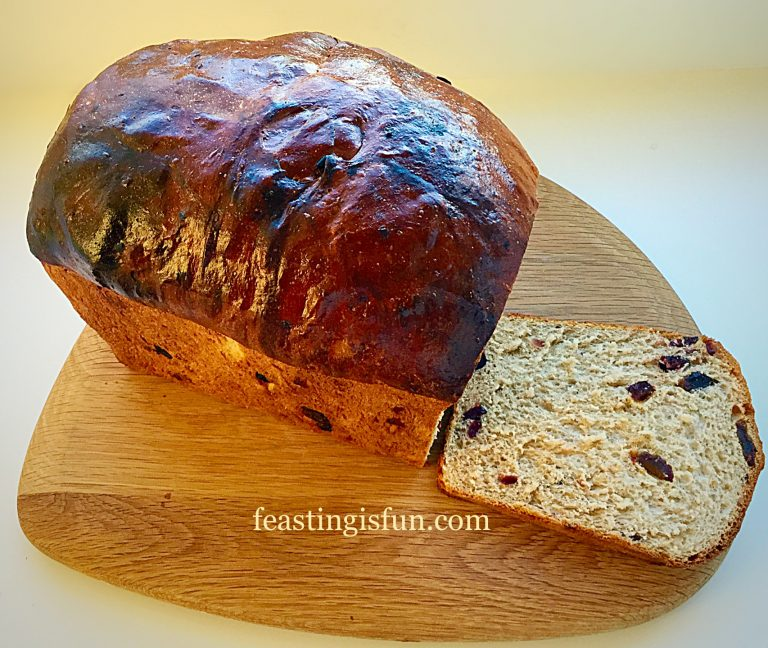 Christmas Spiced Fruit Loaf