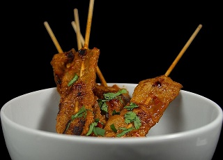 Delicious Chicken Satay Skewers