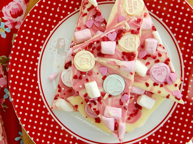 Valentines Chocolate Bark