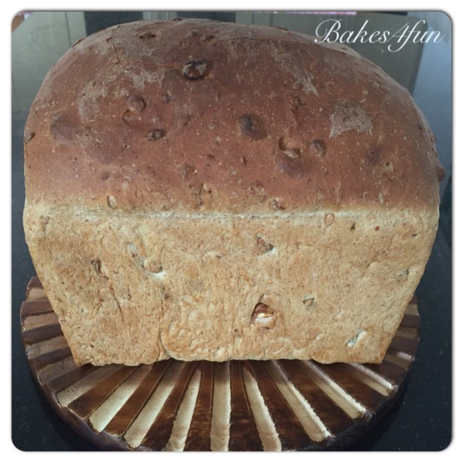 Homemade Loaf with Seeds and Nuts